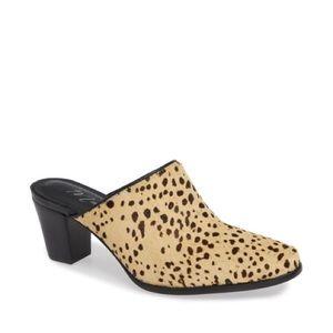 NEW Matisse Commodore Leopard Mule